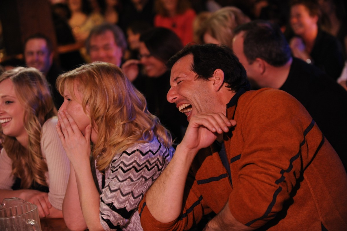 Image result for audience laughing stand up comedy club